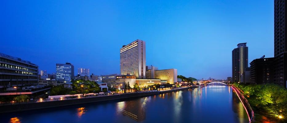 画像 リーガロイヤルホテル大阪の外観
