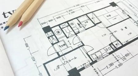 設計図のイメージ写真