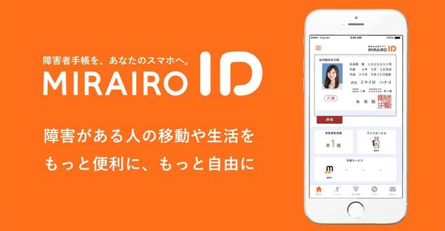 画像 ミライロIDのアプリ画面