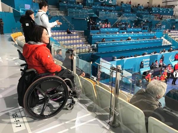 平昌パラリンピックへ行ってきました