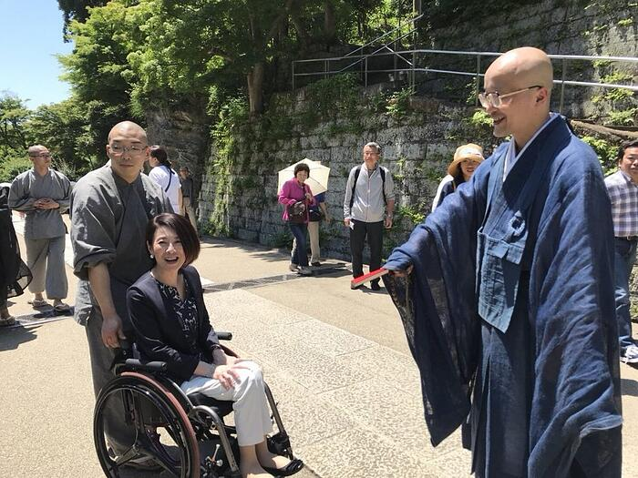 700年の歴史をもつ円覚寺にはユニバーサルマナーがあった
