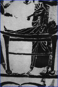 【画像】紀元前500年のギリシャで描かれた車輪のついたベッドの絵