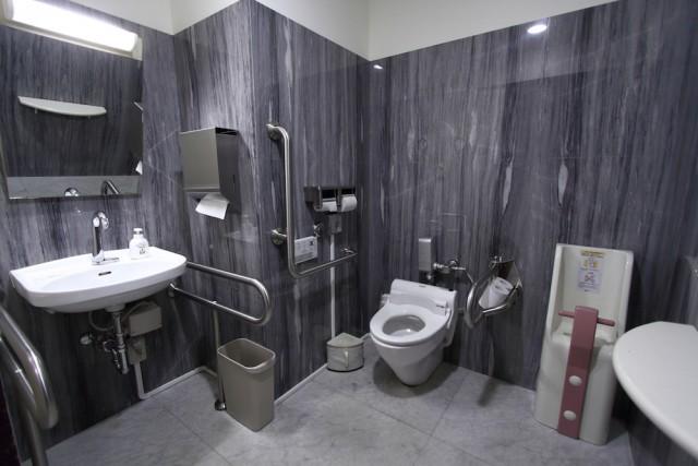 写真 会場内にある多機能トイレ