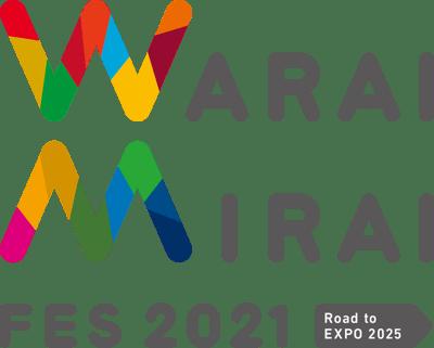 【ロゴマーク】Warai Mirai FES 2021