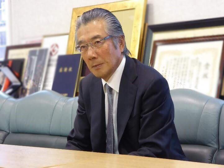 全銀座会 会長の遠藤様