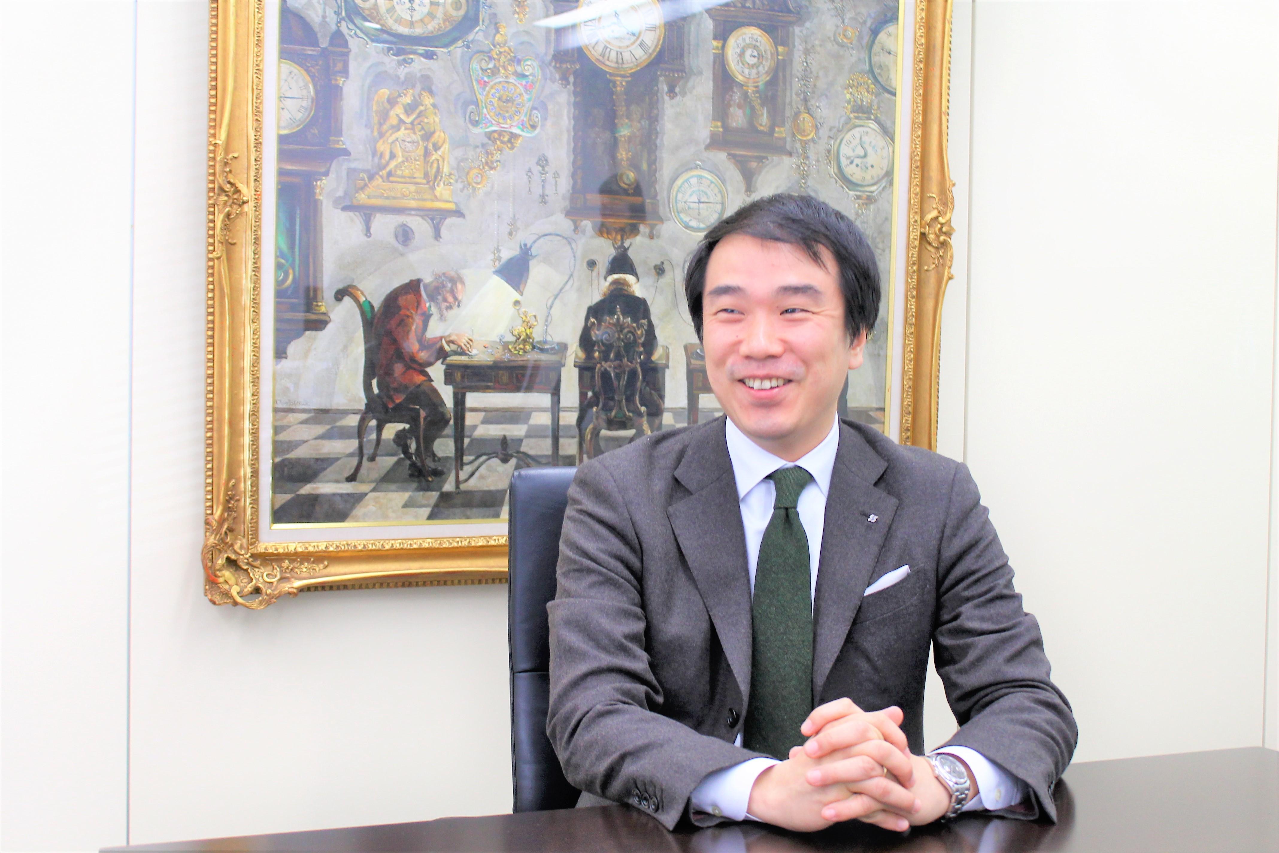 株式会社ホッタ取締役社長の堀田様