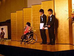 CVG大阪の授賞式にて