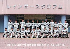 中学3年生、野球部の県大会