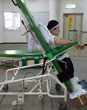 病院でのリハビリ風景